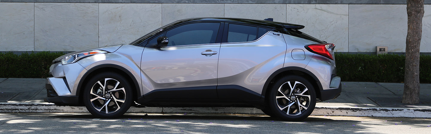 Exterior of the 2019 Toyota C-HR at our Columbus car dealership