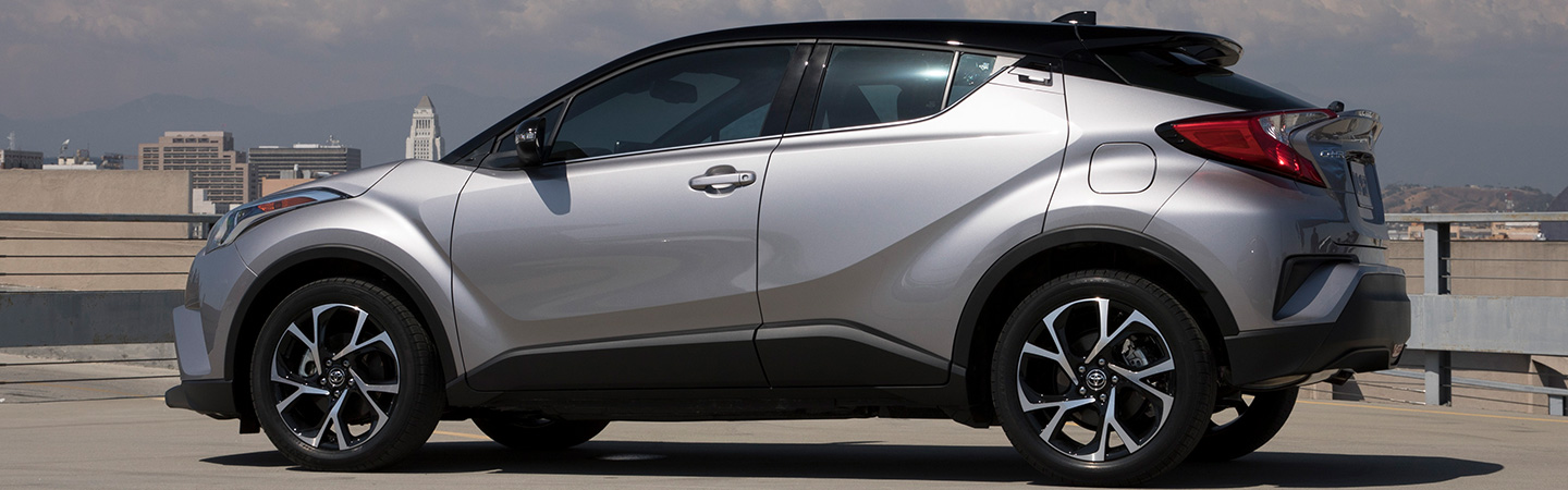 The 2019 Toyota C-HR parked