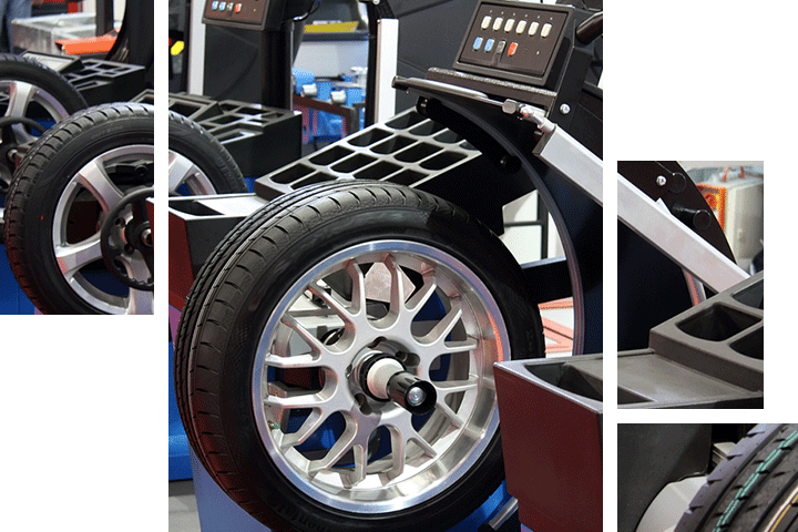 Wheel alignment service at Audi Clearwater
