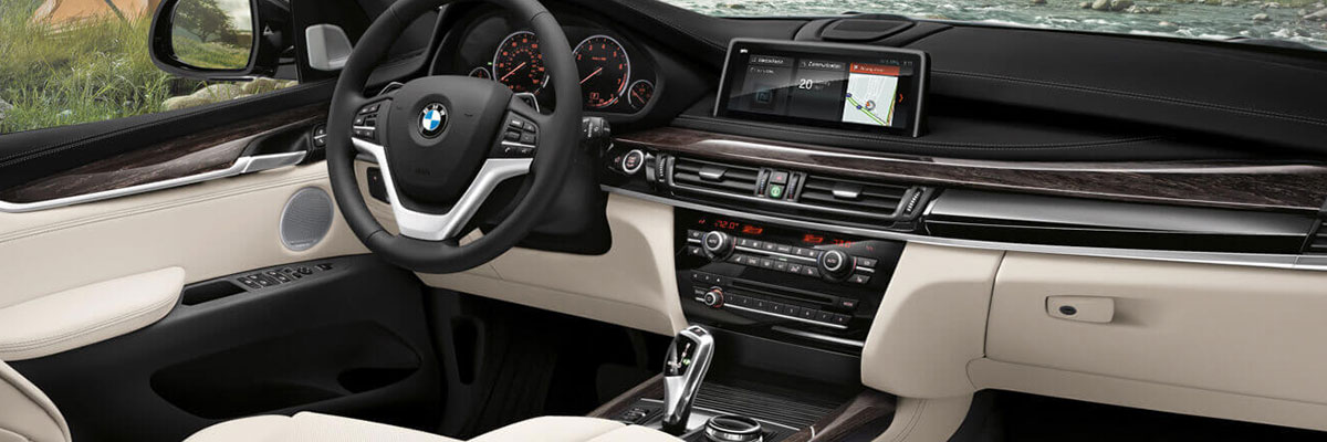 Safety features and interior of the 2018 BMW X5 - available at Hilton Head BMW in Hilton Head near Bluffton, SC