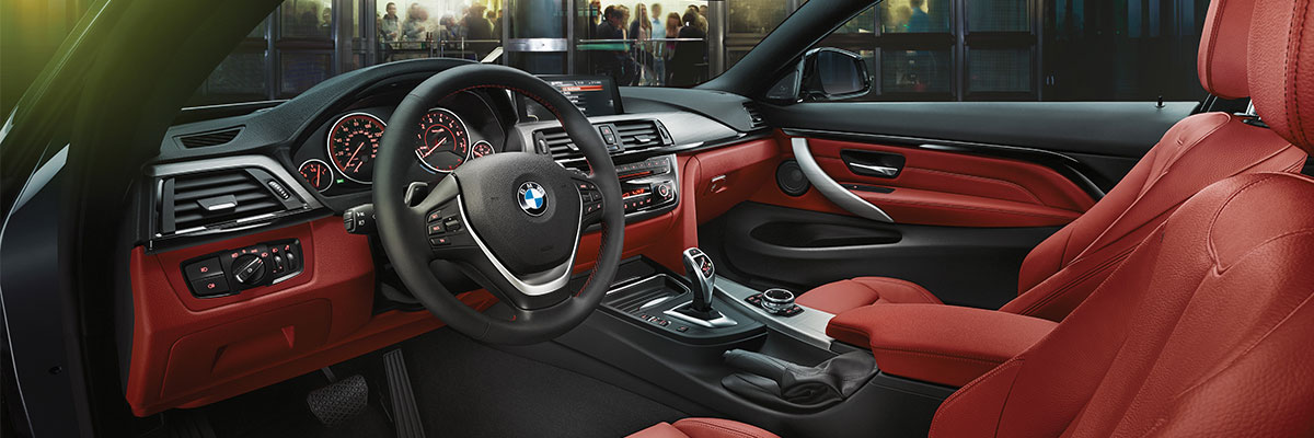 Safety features and interior of the 2018 BMW 4 Series - available at Hilton Head BMW in Hilton Head near Bluffton, SC