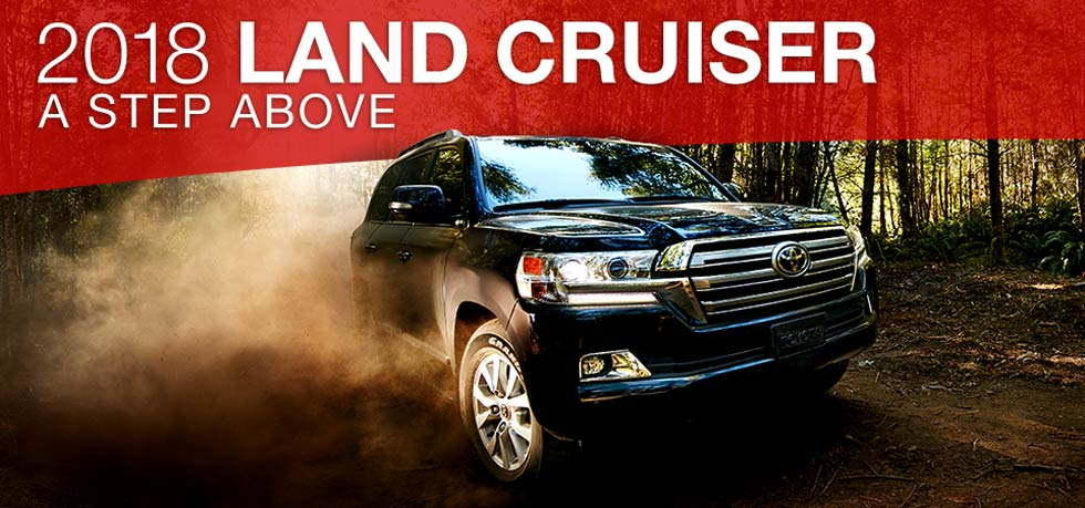 Toyota Land Cruiser is available at Toyota of Tampa Bay in Tampa, FL