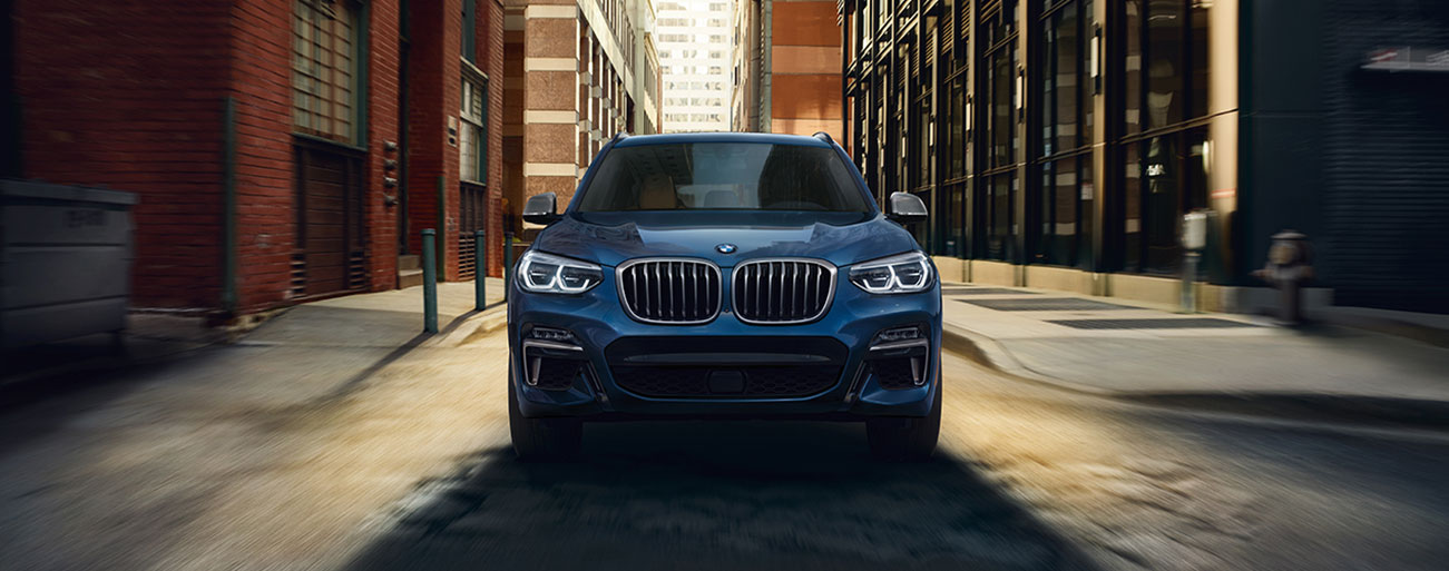 External view 2018 BMW X3