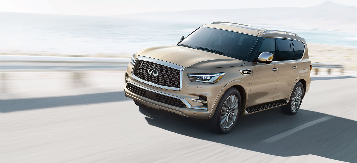 The 2019 INFINITI QX80 is available at our INFINITI dealership in Oklahoma City, OK