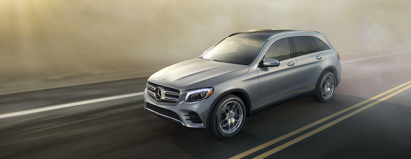 Mercedes-Benz GLC 300 driving
