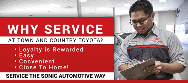 Why Service Here? When You Service At Town U0026 Country Toyota ...