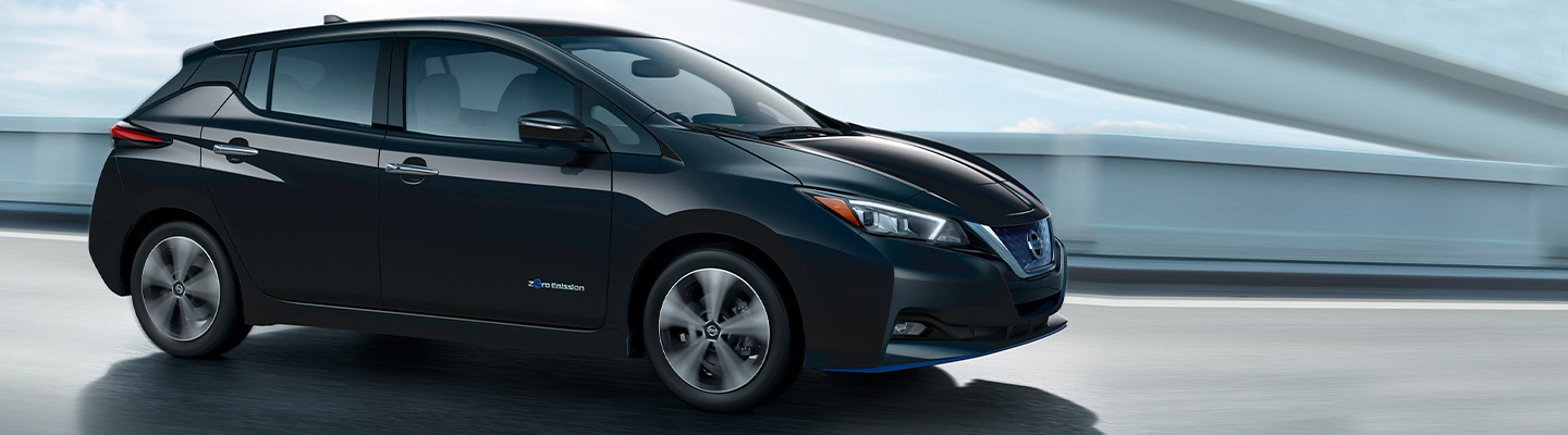 2019 Nissan Leaf is available at Bob Moore Nissan, our Nissan dealer in Oklahoma City, OK.