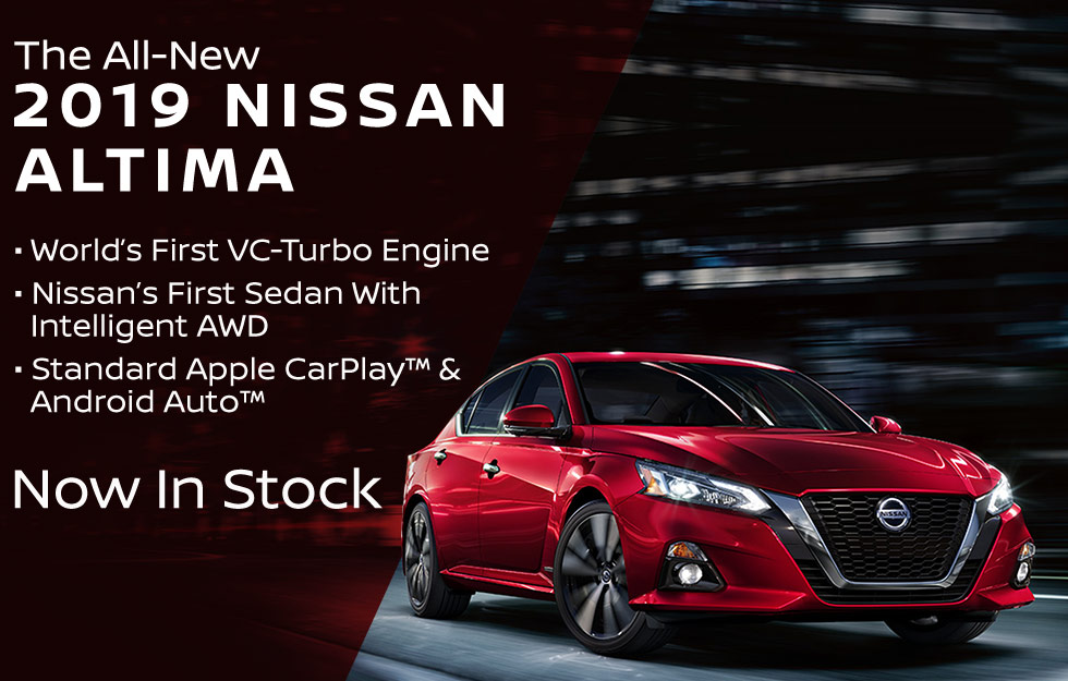 The All-New 2019 Nissan Altima is available at Bob Moore Nissan in Norman, Oklahoma