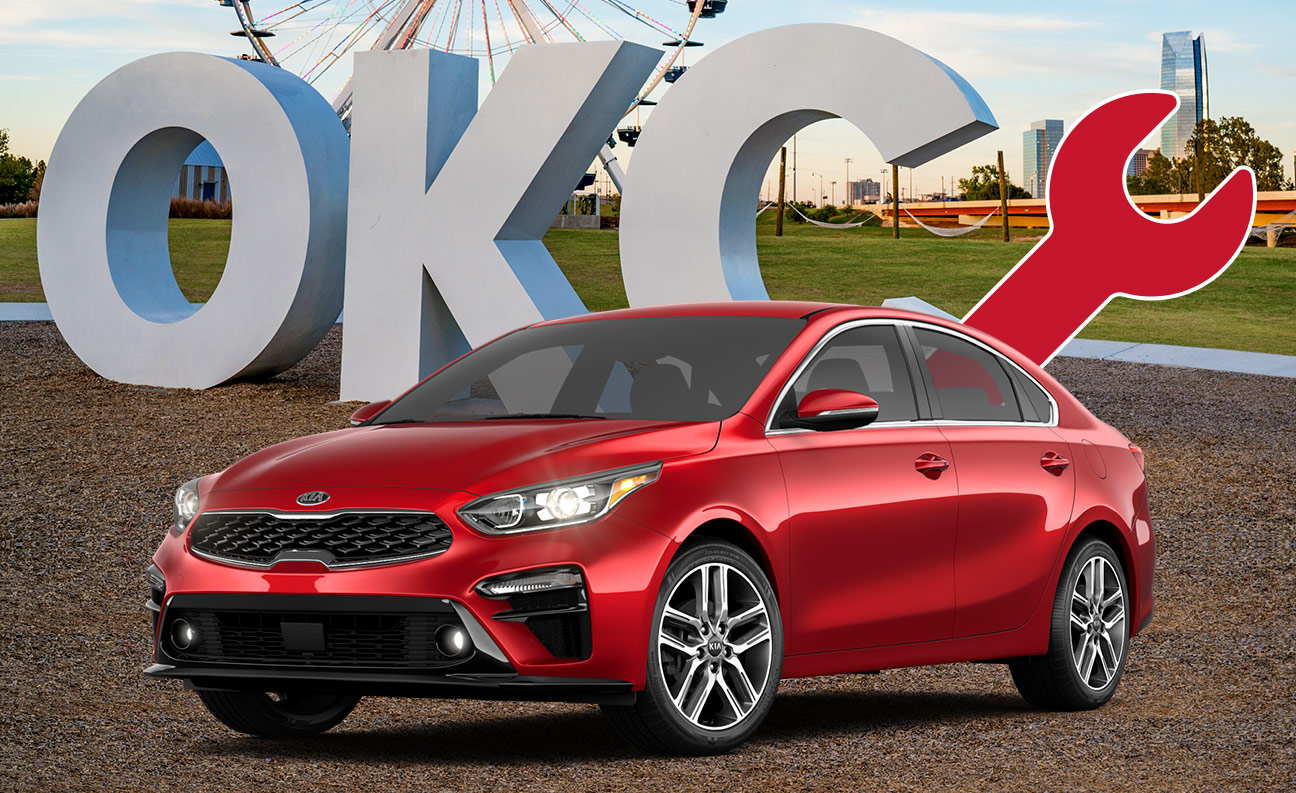 Get your Kia Oil Change Service and Auto Repair at your local Kia Dealership in Oklahoma City, OK