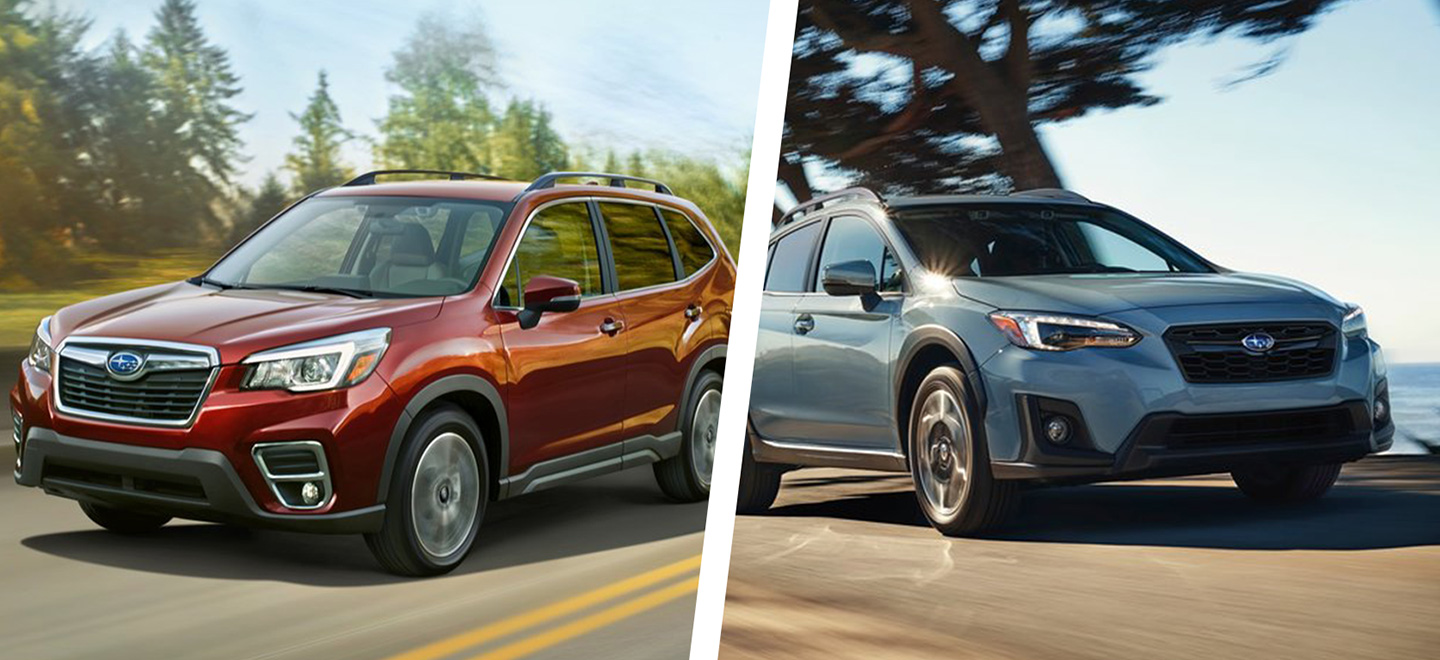 The 2019 Subaru Crosstrek and Forester are available at our Subaru dealership in Oklahoma City, OK