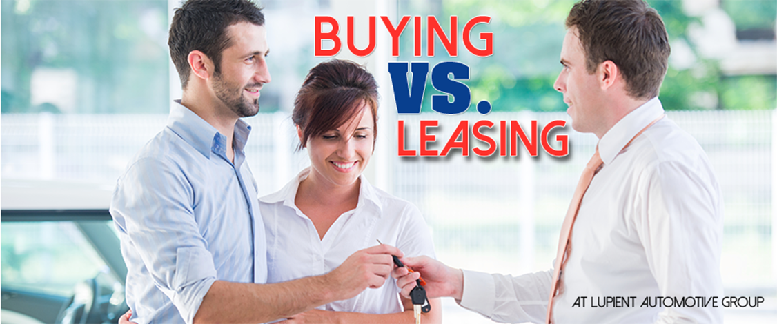 Buy or lease a new car at Lupient Automotive Group serving Bloomington, MN