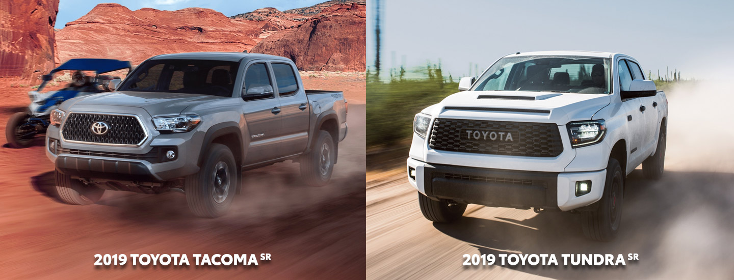 Learn more about Toyota Trucks like the 2019 Toyota Tacoma and the 2019 Toyota Tundra at Rivertown Toyota