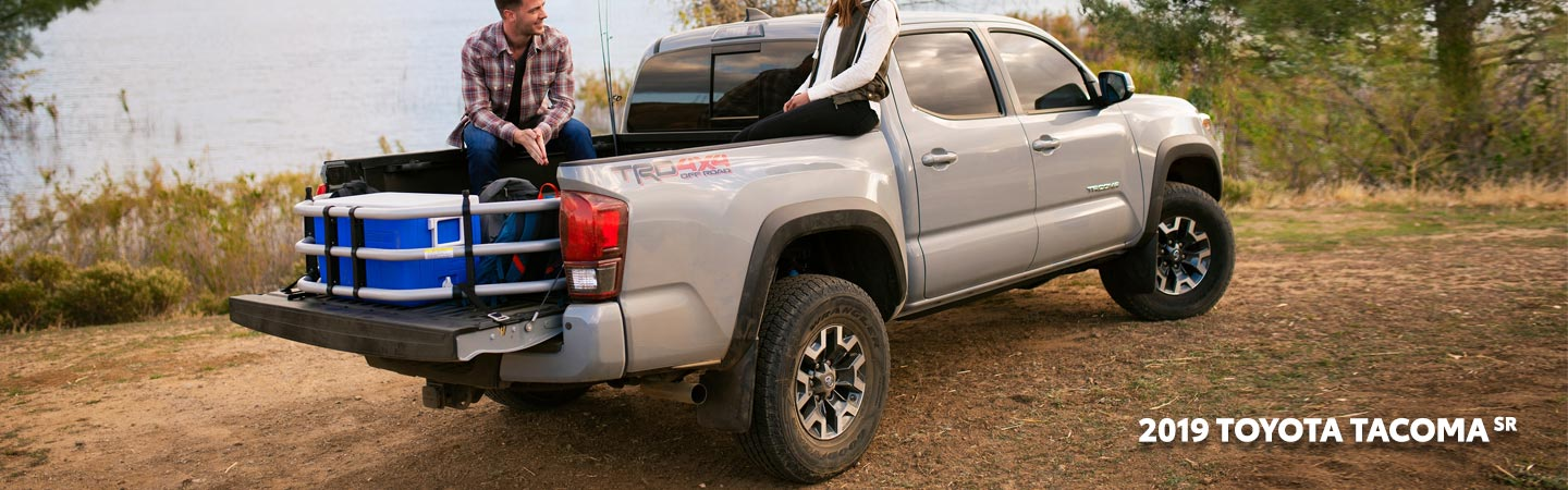 Exterior of the 2019 Toyota Tacoma available at our Columbus car dealership