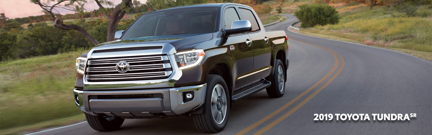 Exterior of the 2019 Toyota Tundra available at our Toyota dealer in Columbus, GA