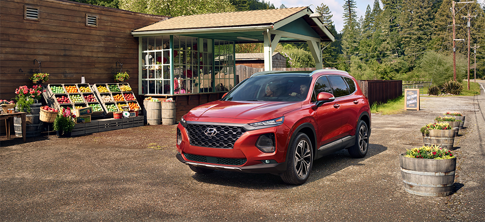 The 2019 Santa Fe is available at our Hyundai dealership near Philadelphia, PA.