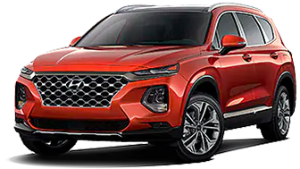 Santa Fe Ultimate 2.0T at our Hyundai dealership near Philadelphia, PA.