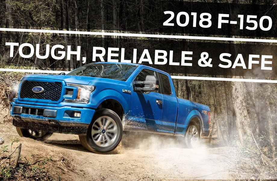 The 2018 F-150 is available at Brighton Ford near Denver