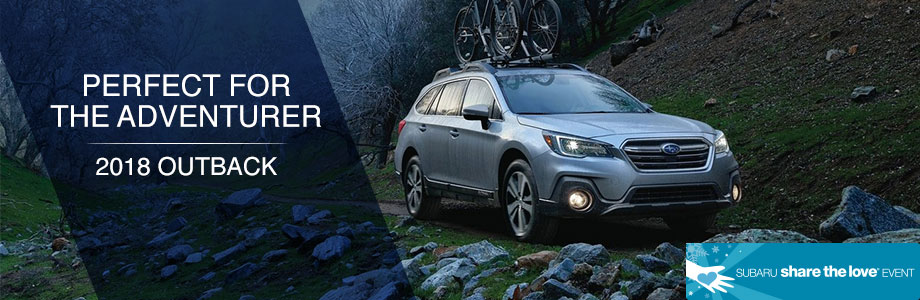 The 2018 Outback is available at Rivertown Subaru in Columbus, GA