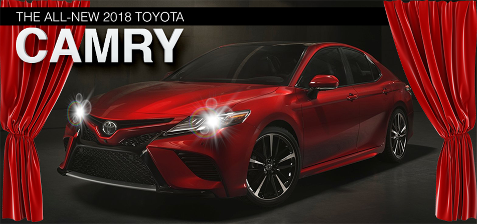 discover the all new 2018 toyota camry lake city fl. Black Bedroom Furniture Sets. Home Design Ideas