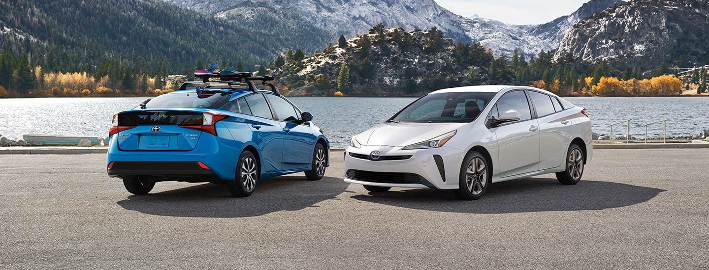 The 2019 Toyota Prius is available at our Toyota dealership in Columbus, GA