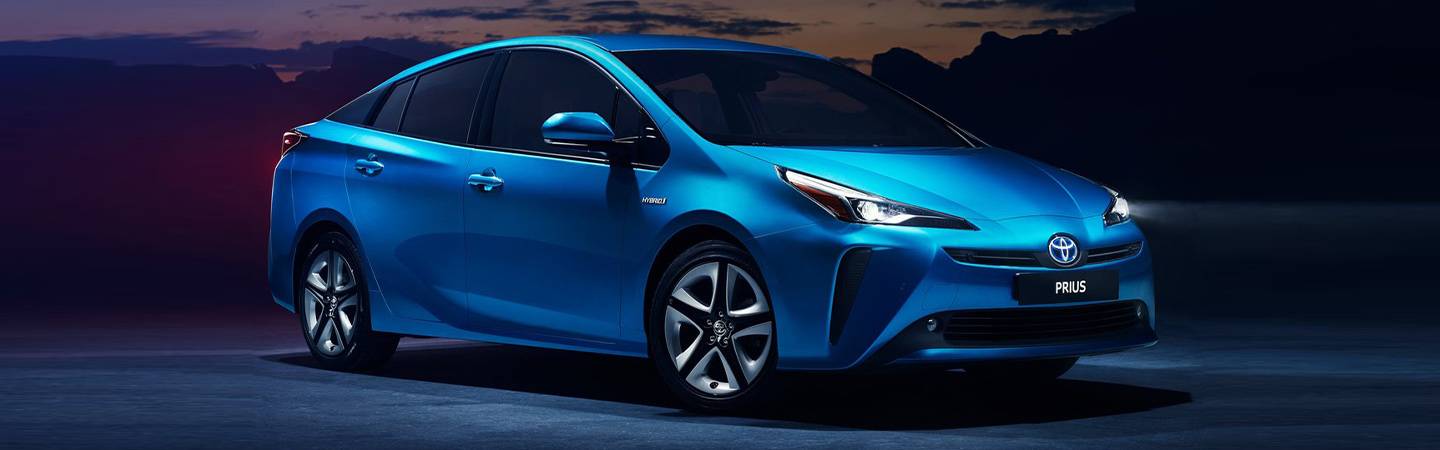 Exterior of the 2019 Toyota Prius available at our Toyota Dealer in Columbus