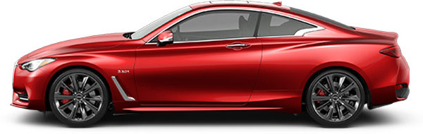2018 INFINITI Q60 Red Sport at South Motors INFINITI in Miami, FL