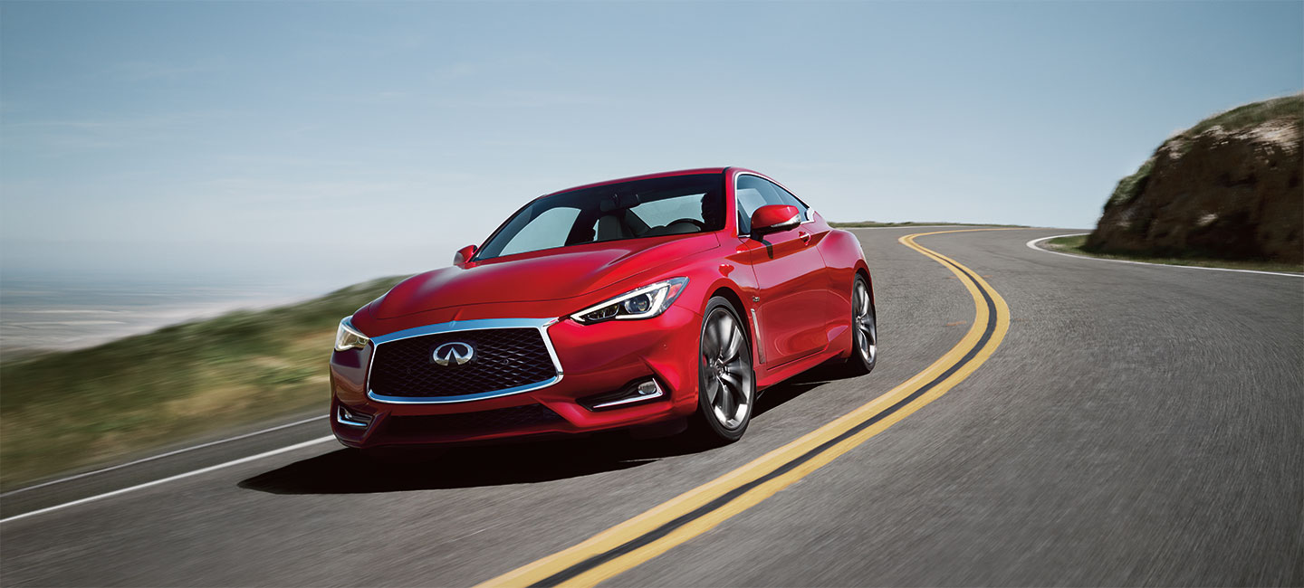 The 2018 INFINITI Q60 is available at South Motors INFINITI in Miami, FL
