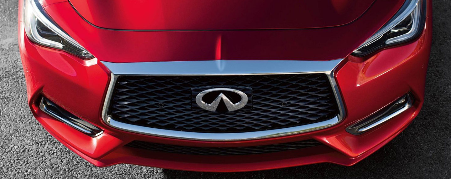Grille of the 2018 INFINITI Q60