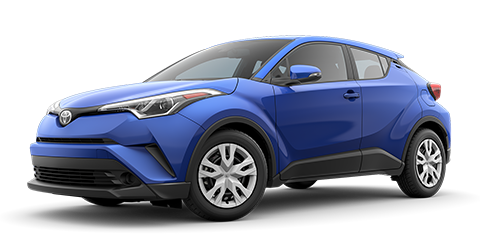 Toyota C-HR LE at Toyota of Rock Hill in Rock Hill, SC