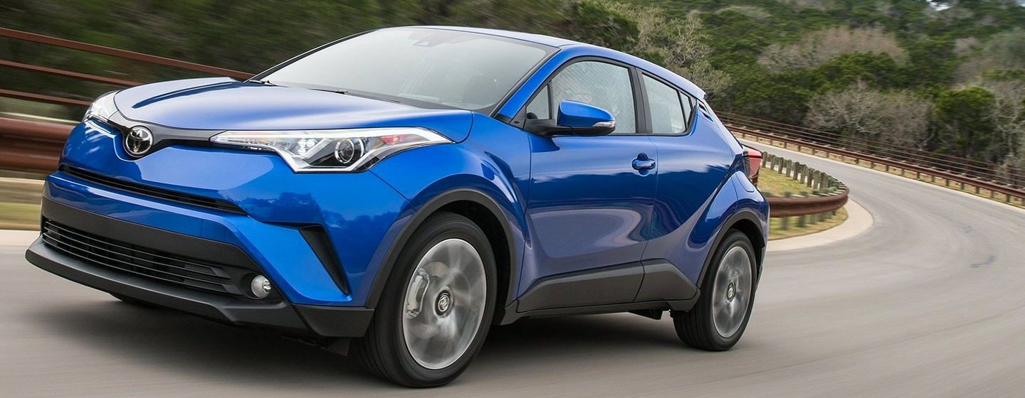 Exterior of the 2019 Toyota C-HR in Rock Hill, SC