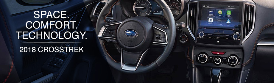 Safety features and interior of the 2018 Crosstrek - available at Rivertown Subaru in Columbus near Auburn-Opelika, AL