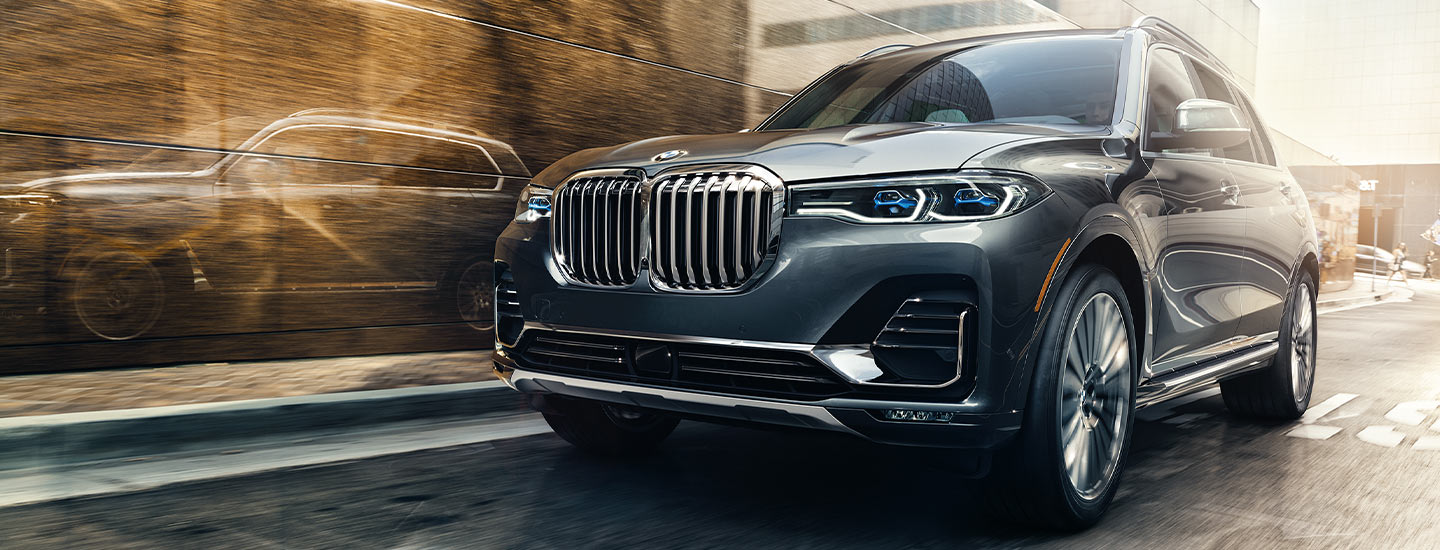 Compare the 2019 BMW X7 to the Audi Q7 at BMW of Columbia