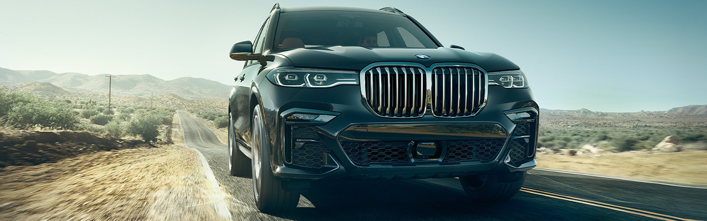 Exterior of the 2019 BMW X7 in Columbia, SC