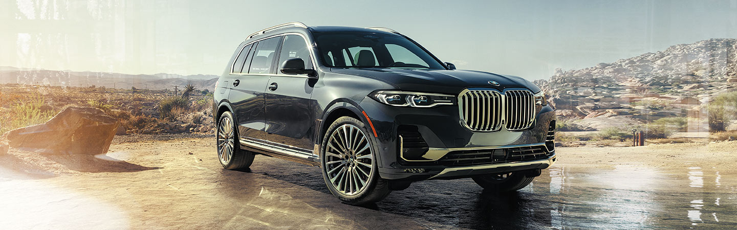Exterior of the 2019 BMW X7 available at our BMW Dealer in Columbia, SC