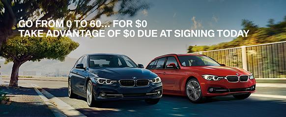 $0 Down Promotion BMW of Sarasota Florida