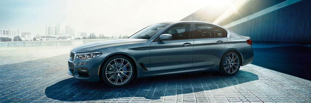 The 2019 BMW 530i is available at our BMW dealership in Columbia, SC.