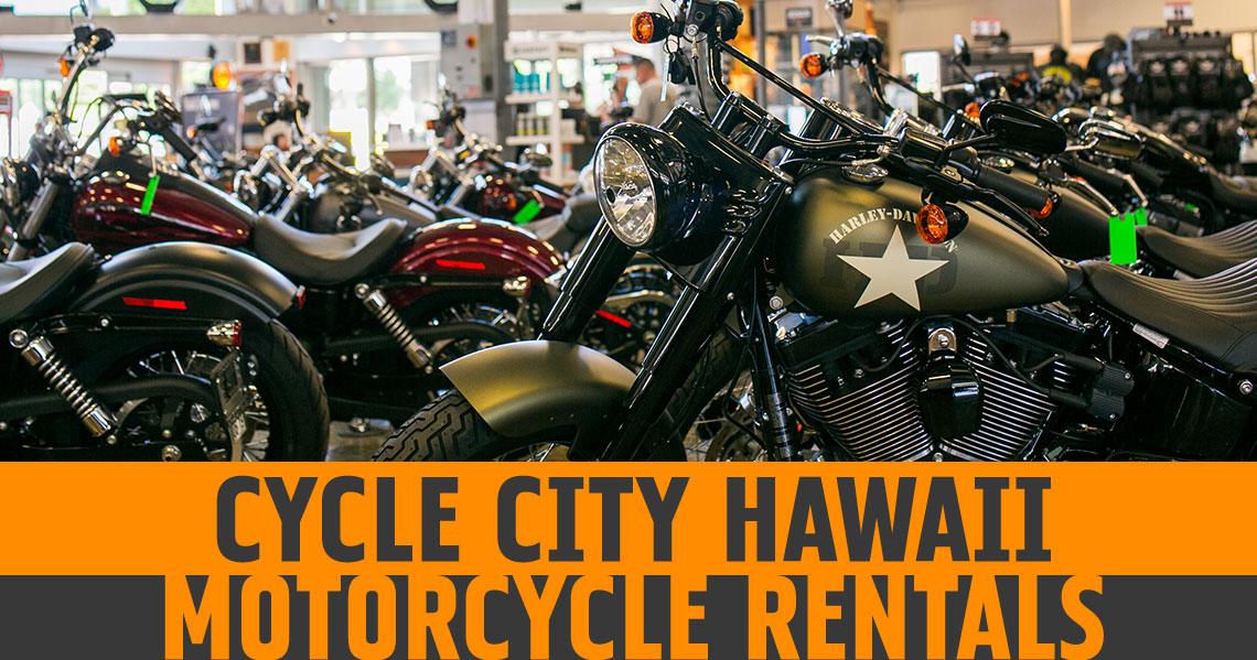Harley Davidson Motorcycle Rentals In Honolulu Cycle City Hawaii