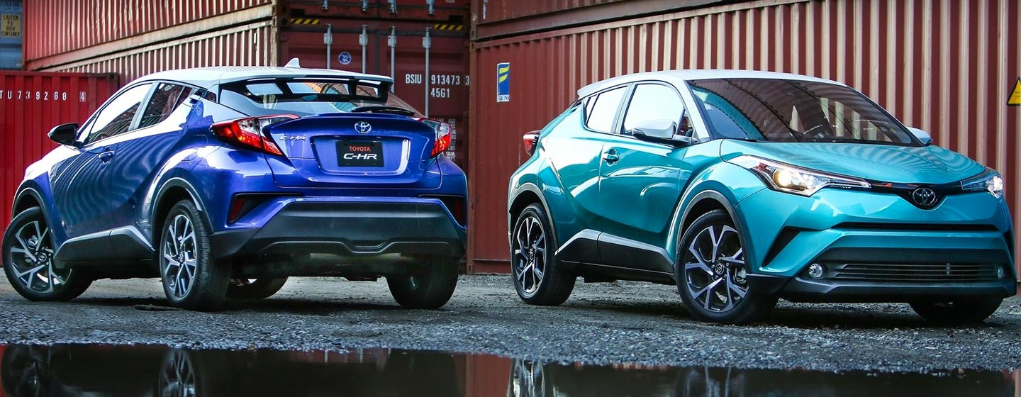 2019 Toyota C-HR Key Features