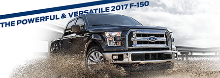 Exterior of the 2017 F-150 at Ford of Port Richey near Lutz and Trinity