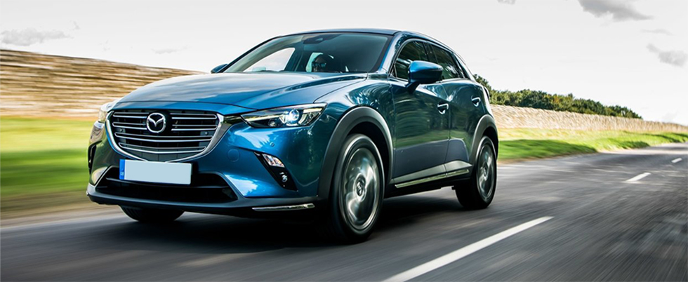 Exterior of the Mazda CX-3 at Naples Mazda near Naples, FL