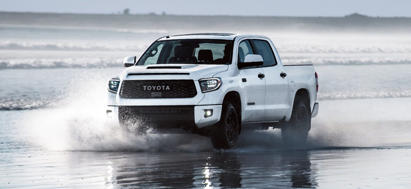 2019 Toyota Tundra Exterior - Driving through water