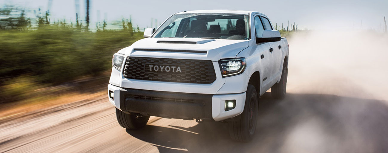 2019 Toyota Tundra Exterior - Driving on a dirt road