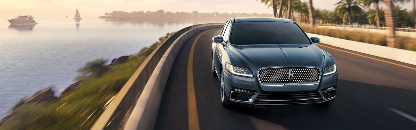 2019 Lincoln Continental driving, available at Coccia Lincoln