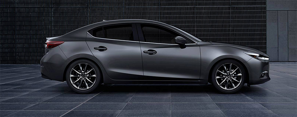 Side view of Mazda3