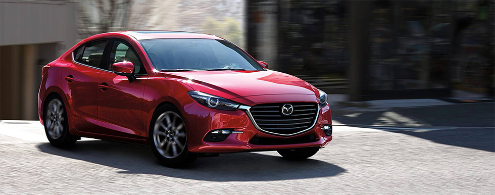 Front view of Mazda3