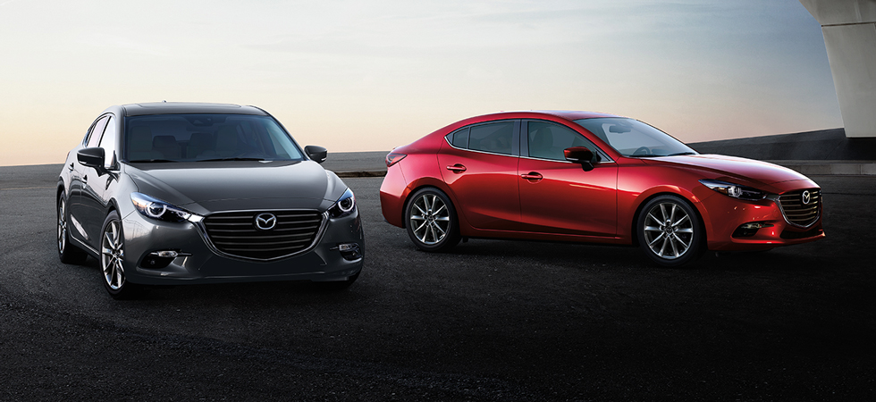 The 2018 Mazda3 is available at our Mazda dealership in Naples, FL.