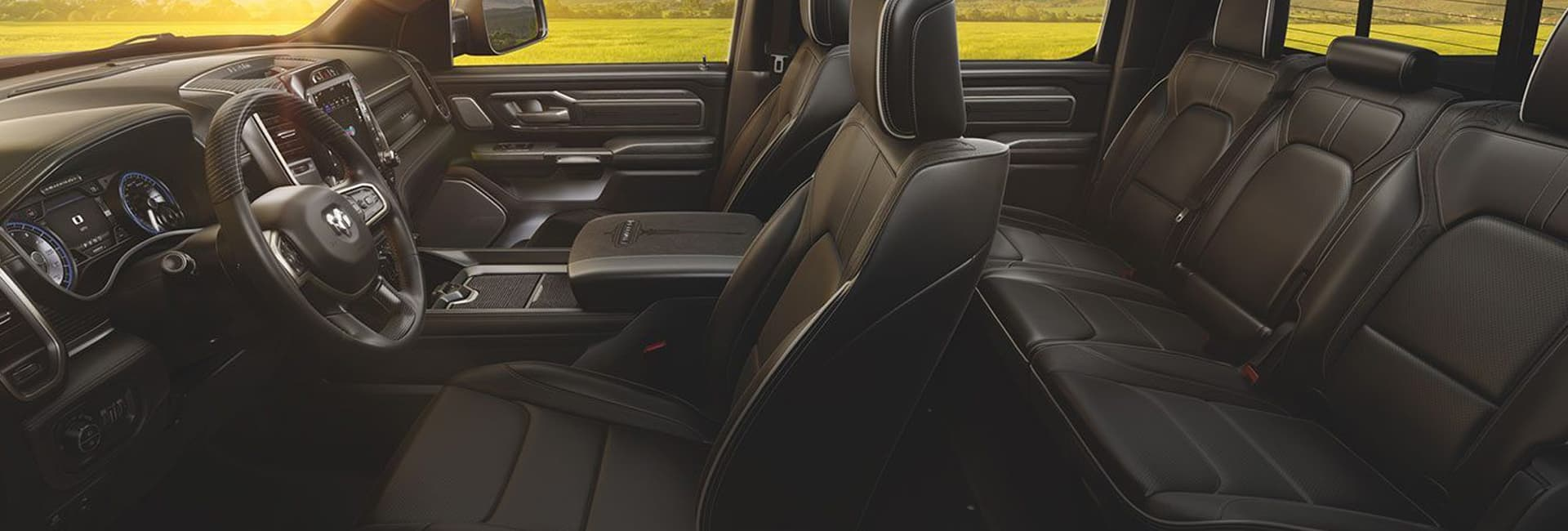 Interior image of the 2020 Ram 1500