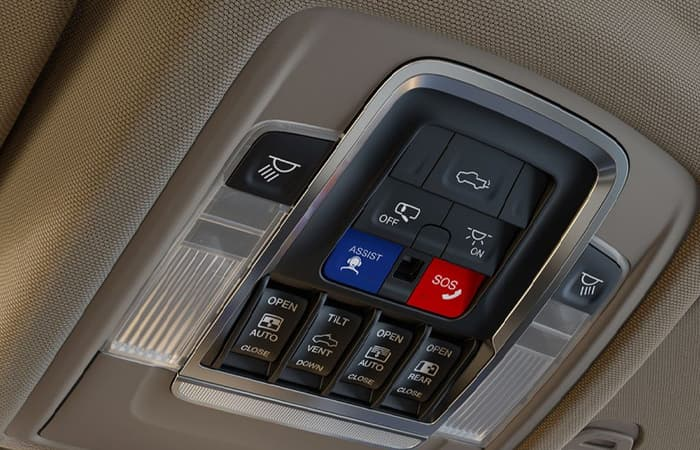 Buttons of the 2020 RAM 1500