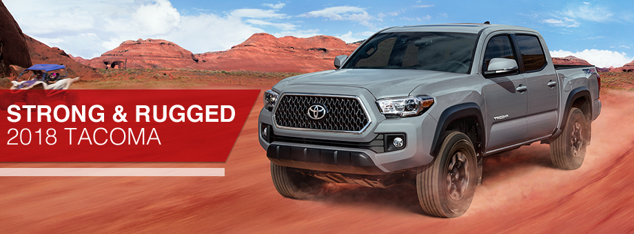 Exterior of the Tacoma at Toyota of Rock Hill near Fort Mill, SC