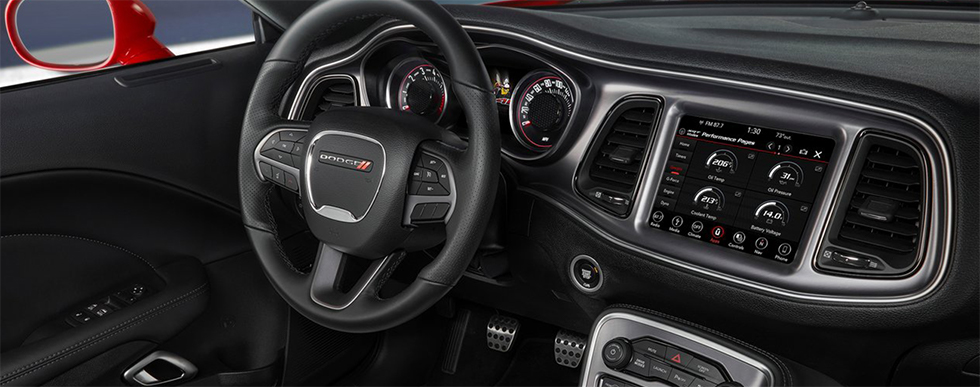 Safety features and interior of the 2018 Dodge Challenger - available at Lake City CDJR near Gainesville, Live Oak